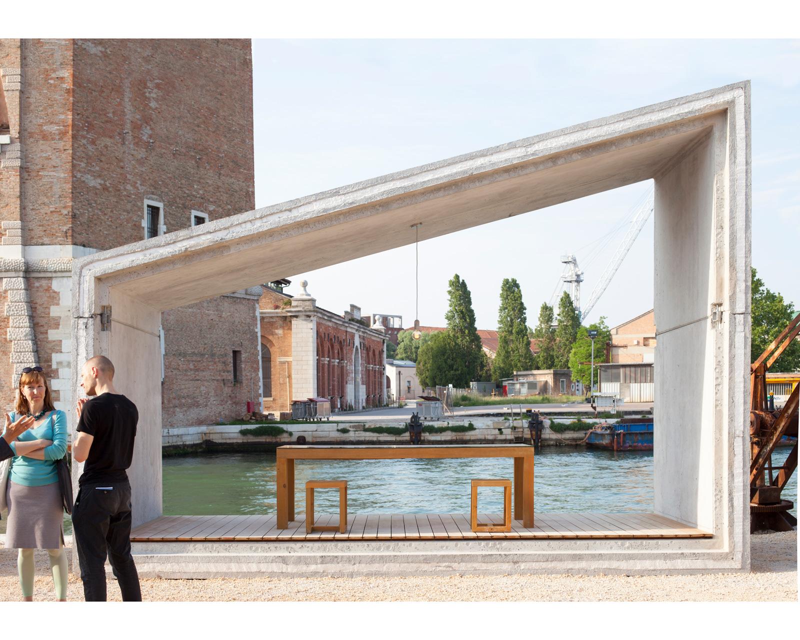 La biennale venezia Summary Architecture Gomos System